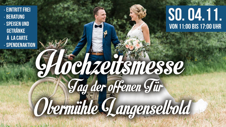 Hochzeitsmesse Obermühle 2018