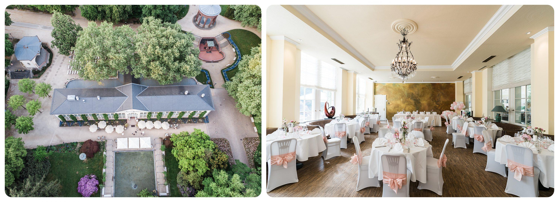 Eindrücke aus der Hochzeitslocation Orangerie Bad Homburg