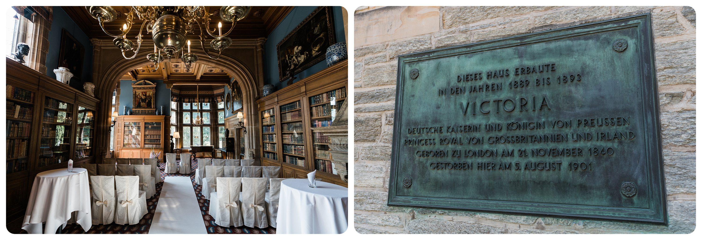 Standesamt Bibliothek Schlosshotel Kronberg