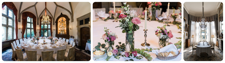Hochzeitslocation Schlosshotel Kronberg Dekoration