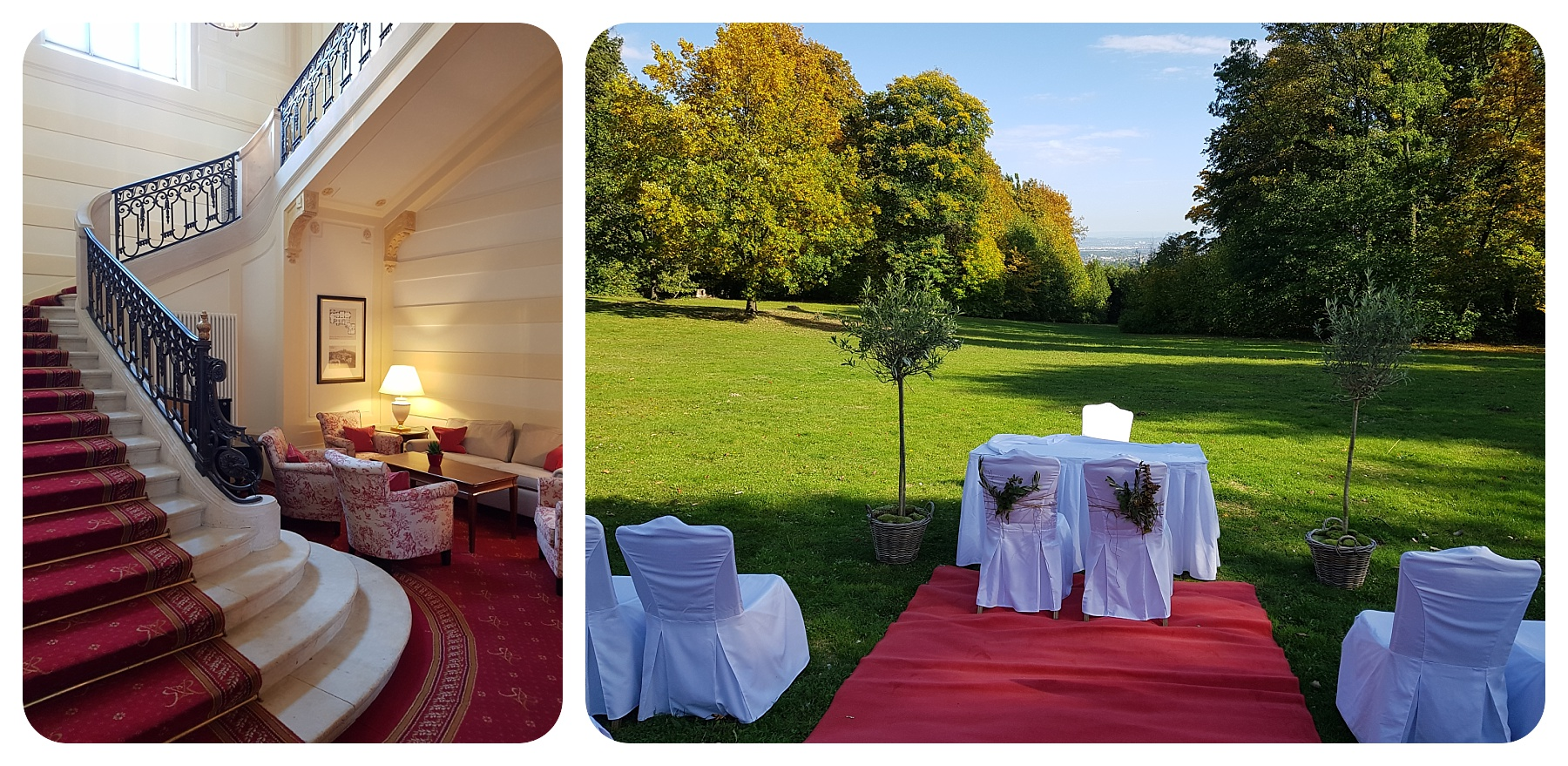 Villa Rothschild Königstein Hochzeitsvideograf